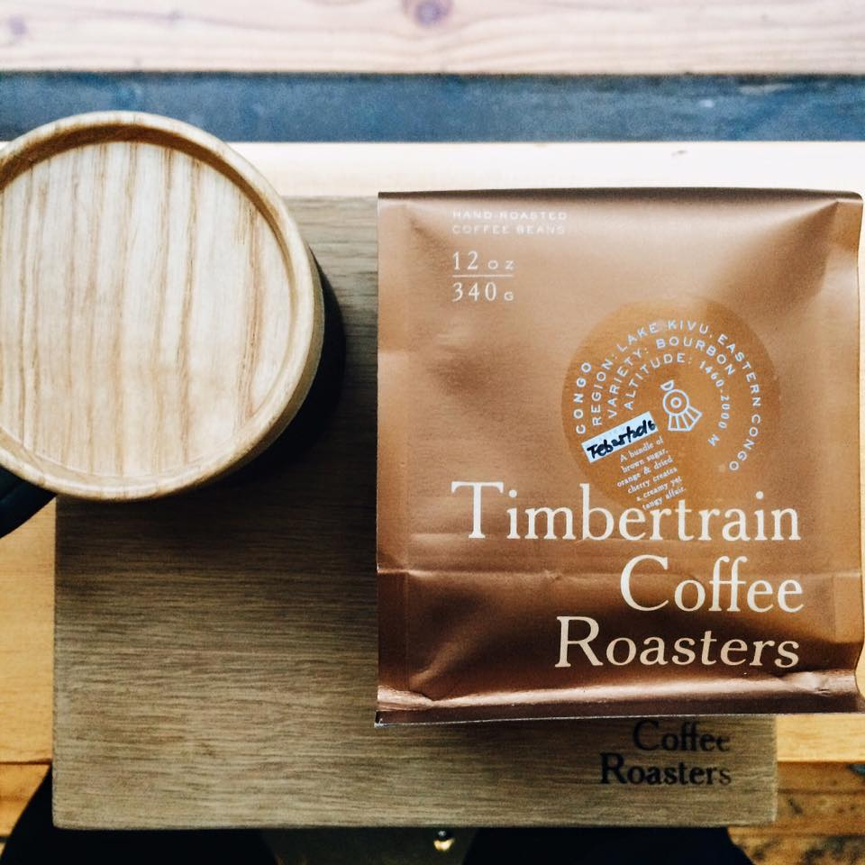 Timbertain Coffee Roasters in Vancouver with new coffee beans