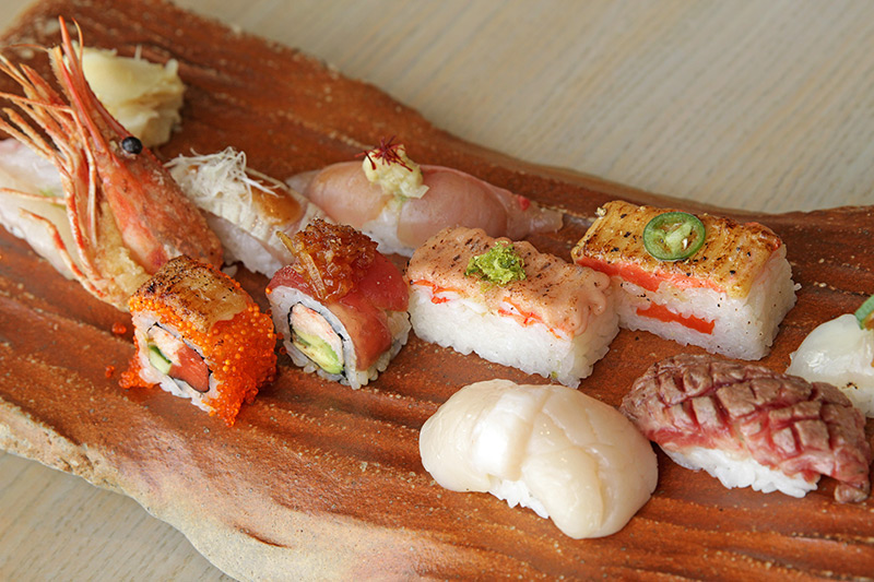 Best sushi in Vancouver by Miku restaurant