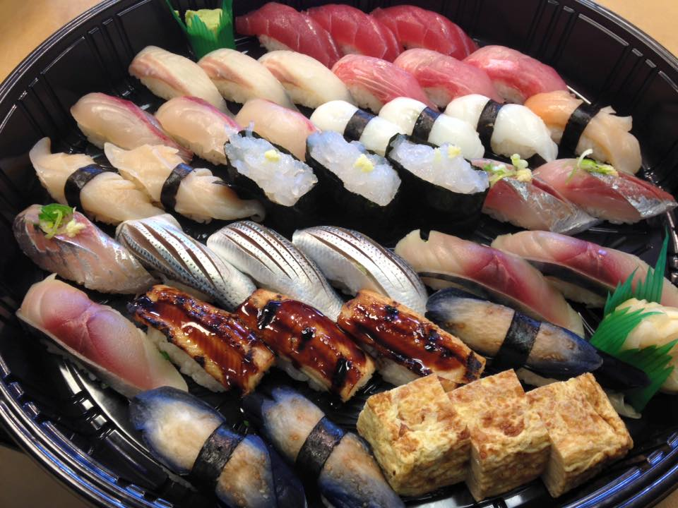 Vancouver's Sushi Bar Maumi Nigri tray