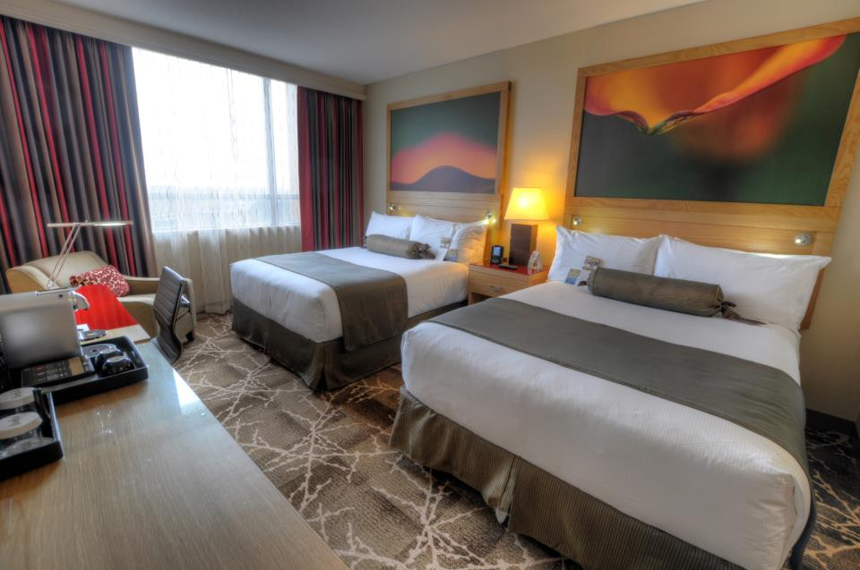 River Rock YVR hotel double rooms
