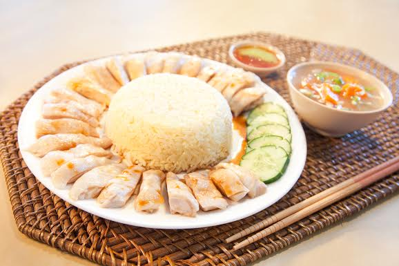 Vancouver Hainanese Chicken Rice at Mamalee Malaysian Delight