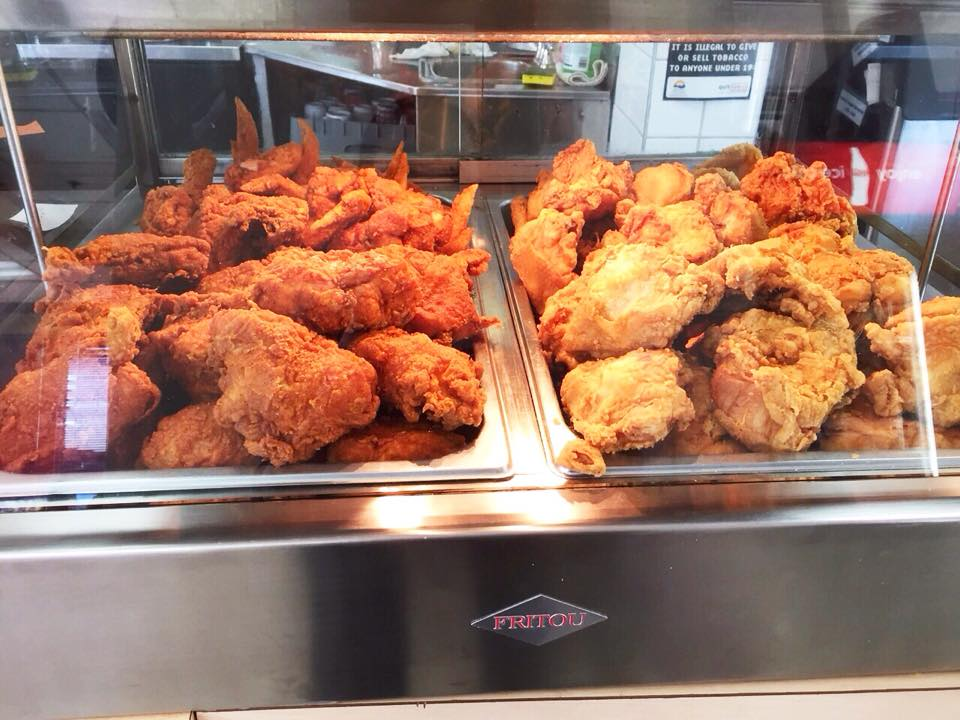 Fried Chicken at Duffin's Donuts in Vancouver