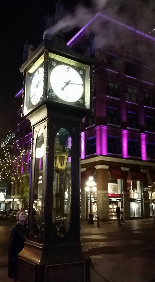 Picture of the Day #1 - Gastown clock