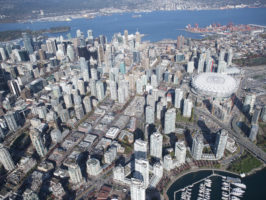 Ariel view of downtown Vancouver - Picture of the Day #12