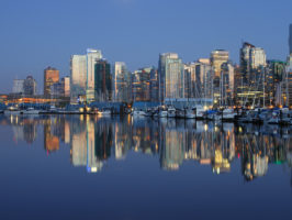Vancouver BC Evening Waterfront - Picture of the Day #17