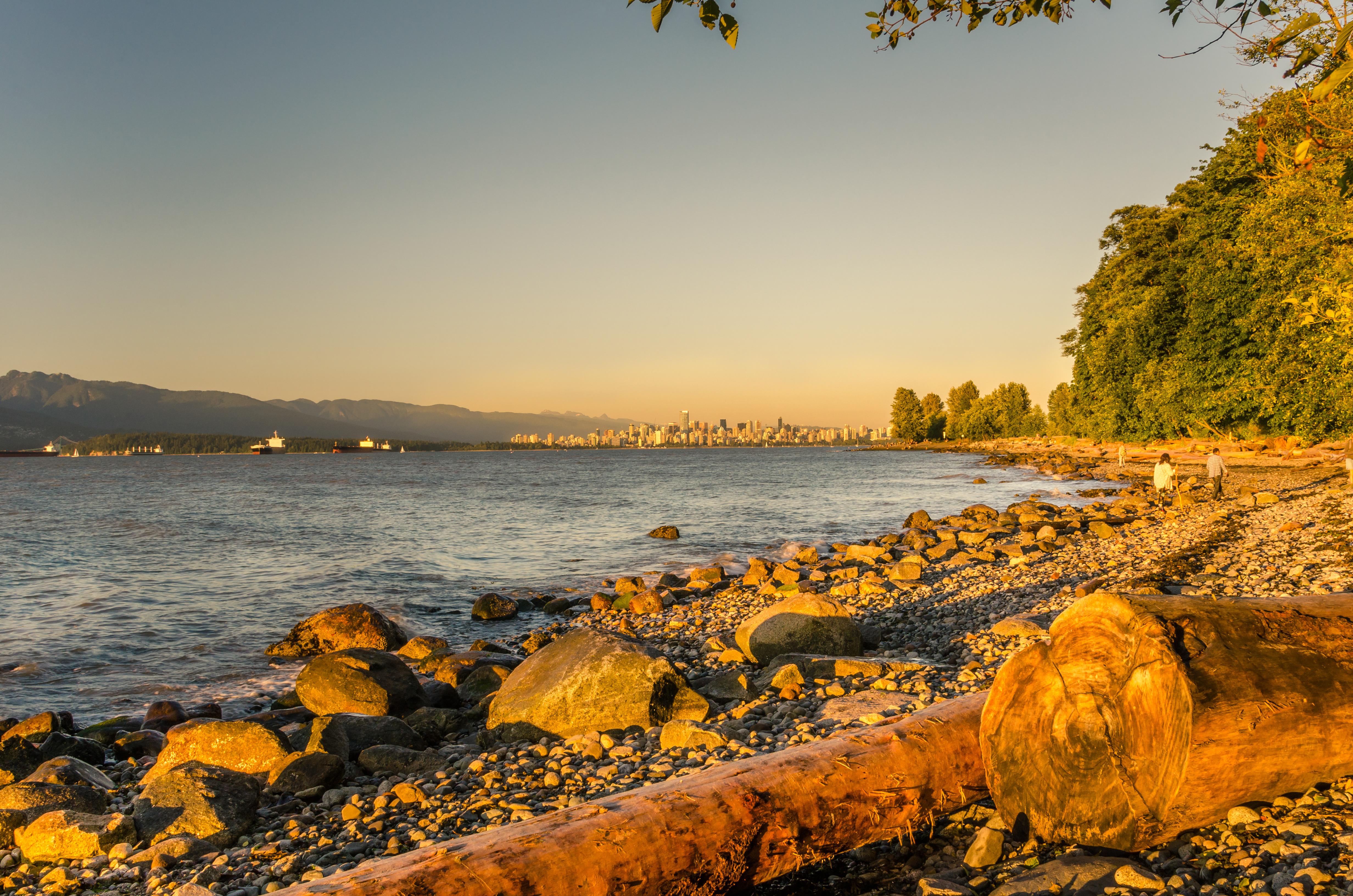 Vancouver Beach Sunset UBC