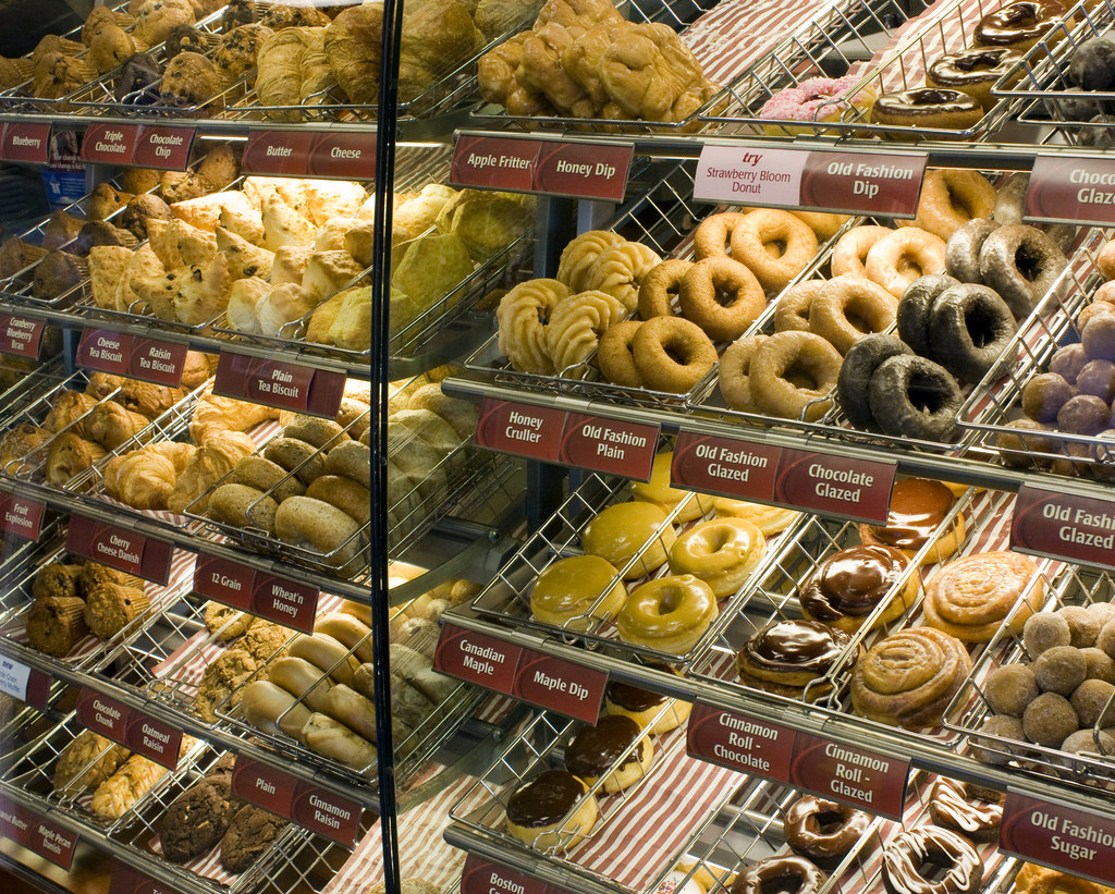 Tim Hortons Donuts displayed UBC
