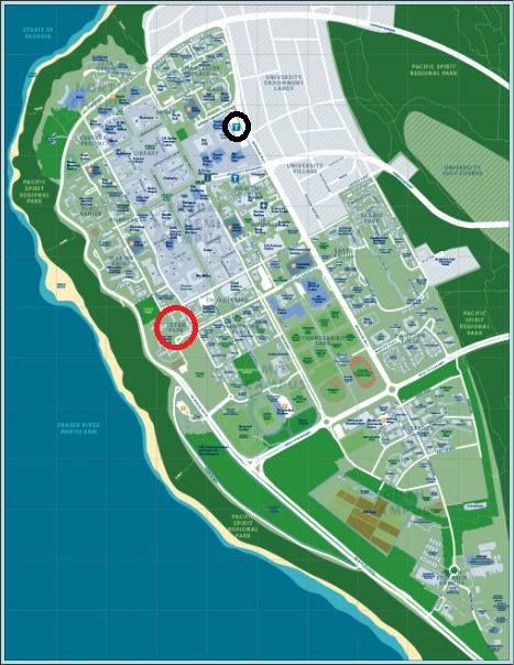 Vancityasks 39 welcome to ubc guide for Location parking