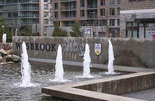 Wesbrook Village Fountains UBC