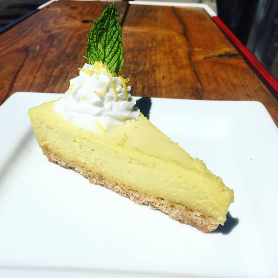 MeeT on Main vegan lemon tart