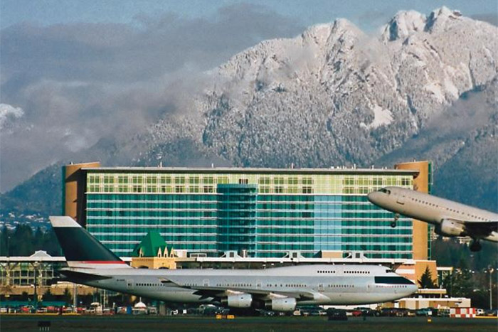 Fairmont Vancouver Airport Hotel Exterior Richmond Hotel